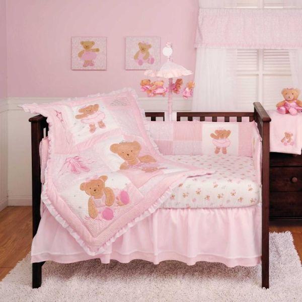 """""""twirling """" Ballerina Bear Bedding Set"""