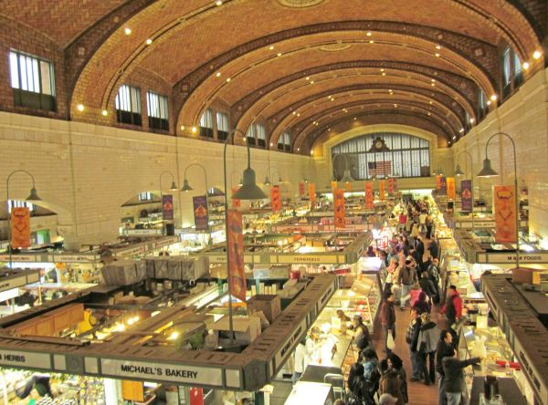 West Side Market Cleveland - Google Tremont