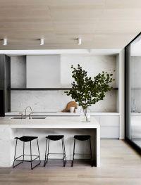 Modern Kitchen, Sleek Kitchen, Minimal Kitchen, Black and ...