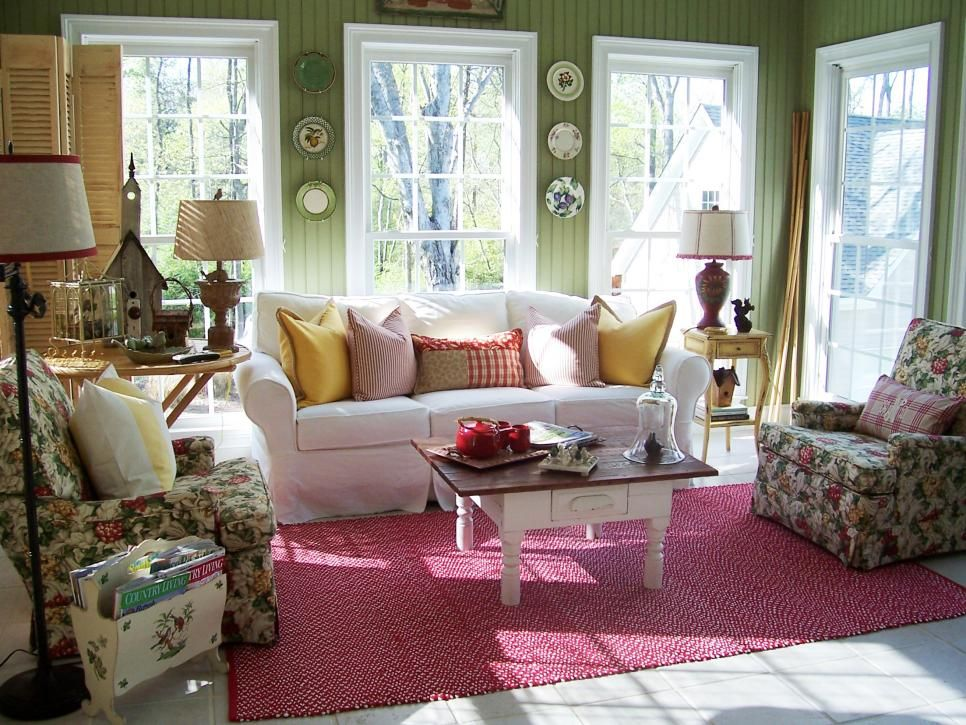how to clean suede sofa covers cheap loveseat and cottage-style sunrooms | sunrooms, cottage style ...