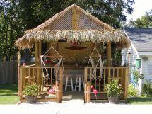 Back Yard Tiki Bar Hut