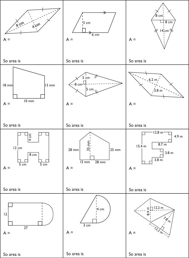 Printables. Area Of Composite Shapes Worksheet. Mywcct
