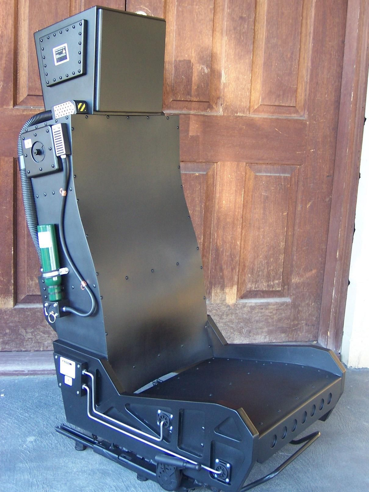 flight simulator chair motion marc newson mechwarrior cockpit sim pit builders simhq