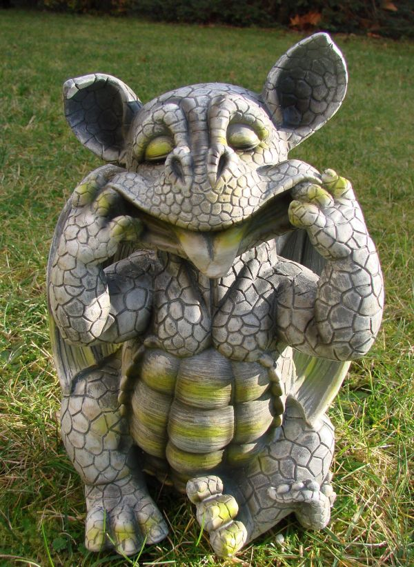 Baby Dragon Garden Ornament