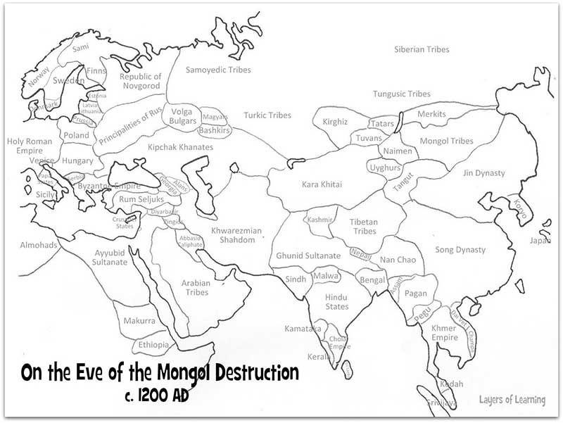 Free map:
