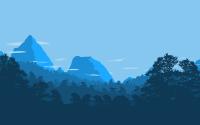 flat design landscape