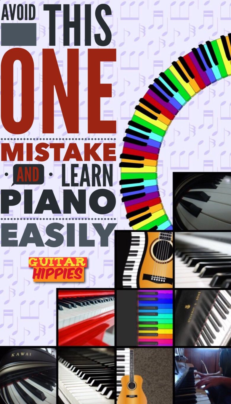 piano for beginners - how to learn piano easily by avoiding one