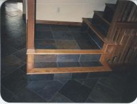 oak steps and risers | ... Custom Wood Floors, Inc. - Red ...
