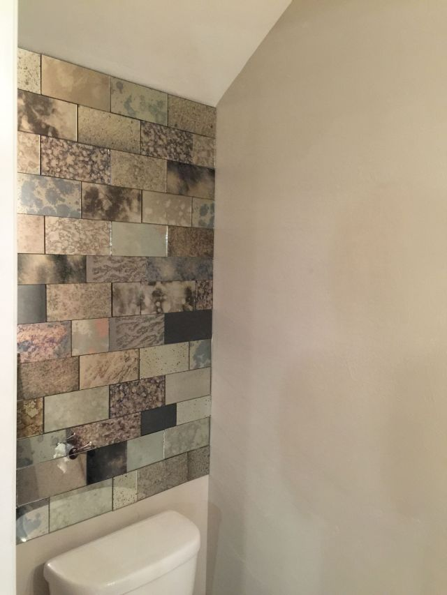 Watch this video and learn how to cut antique mirror tiles