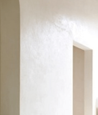 Warm White Venetian Plaster Walls | Master Bath ...