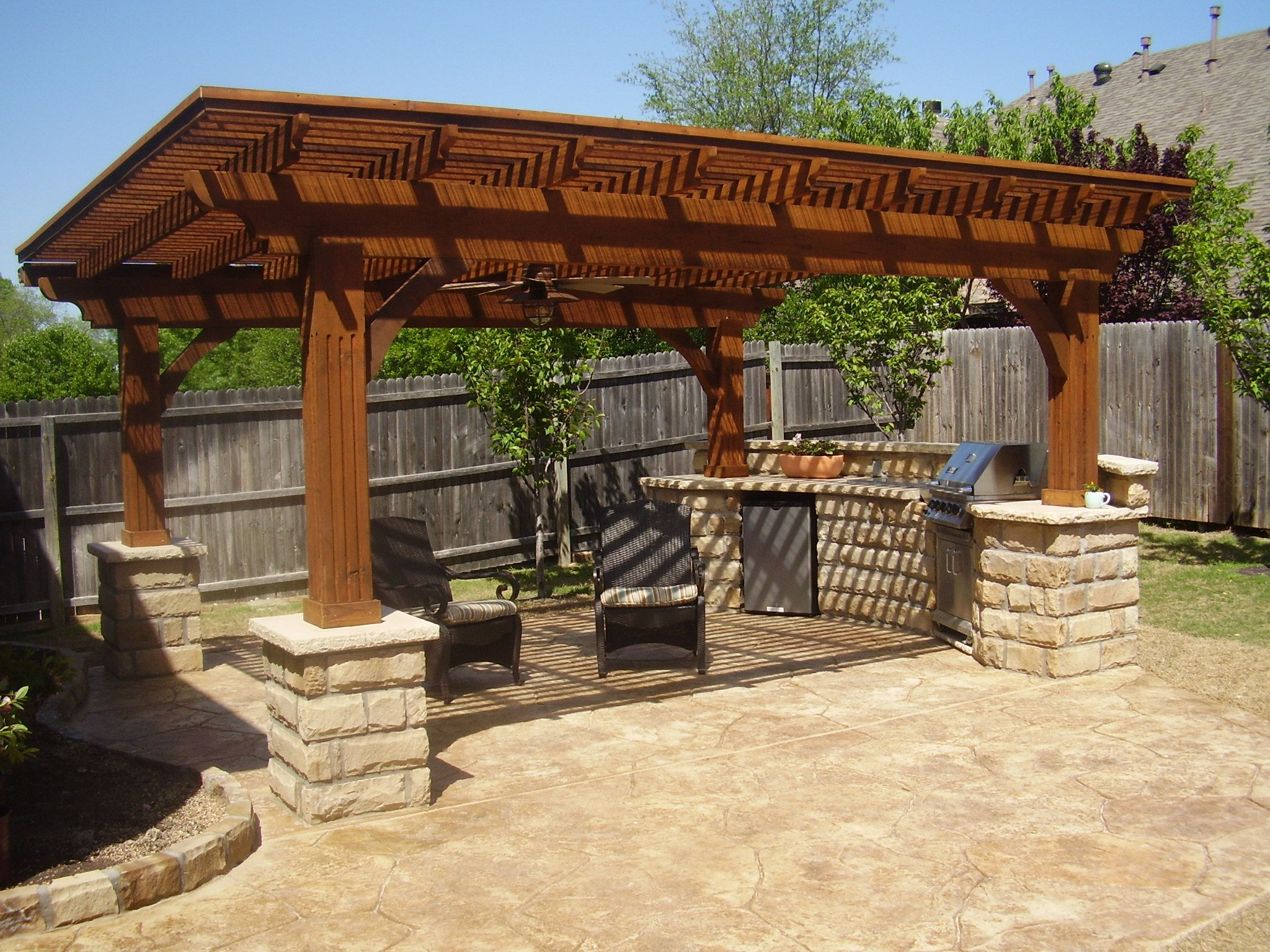 Stunning Garden Ideas For Patio Images Home Decorating Ideas