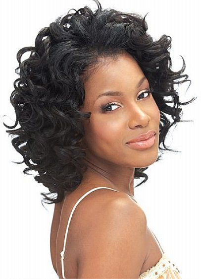 Short Curly Weave Hairstyles For Black Women With Thick Hair