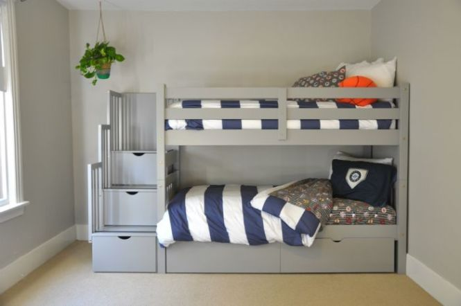 Kids Bed Bunk Beds Make The Childrens Bedroom A Fun Place Pottery Barn Simple New Decoration Ideas