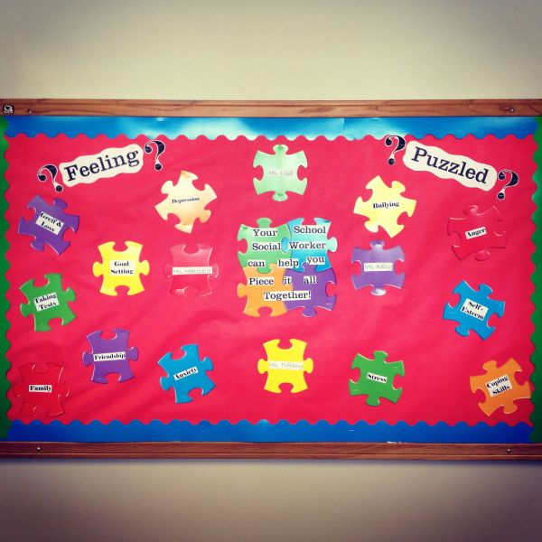 Bulletin Board Social Workers Therapists