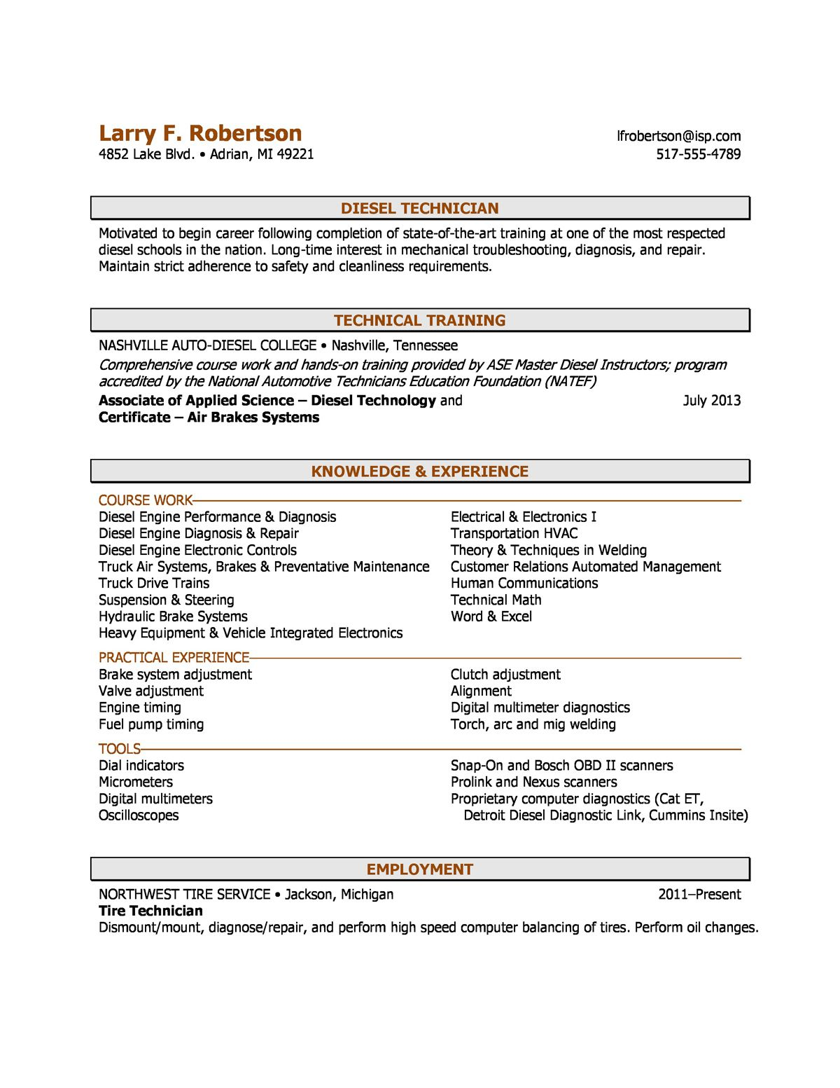 Combination Resumes A Sample Combination Resume Using Aspects Of Chronological