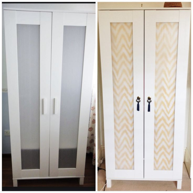 Budget Ikea Hack Complete Aneboda Wardrobe Fabric From Www Picture