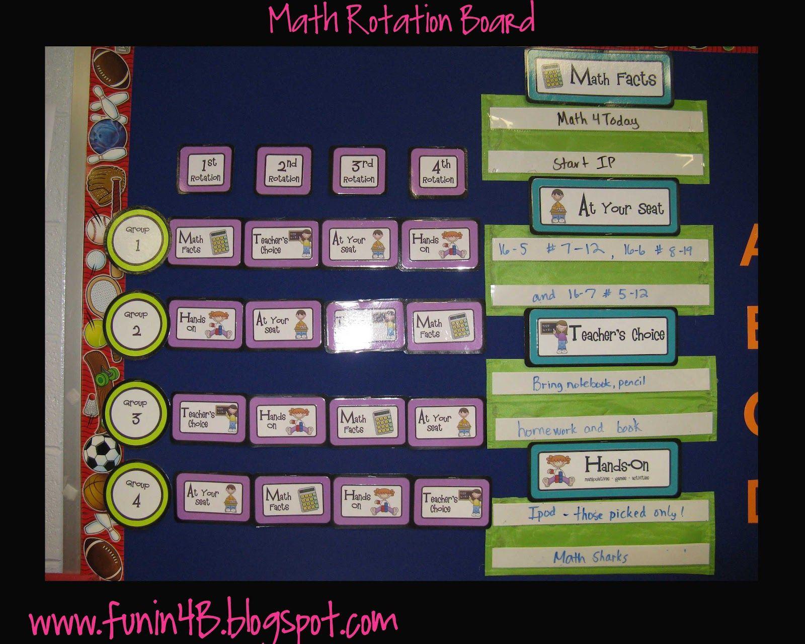 The 25 Best Math Rotation Board Ideas