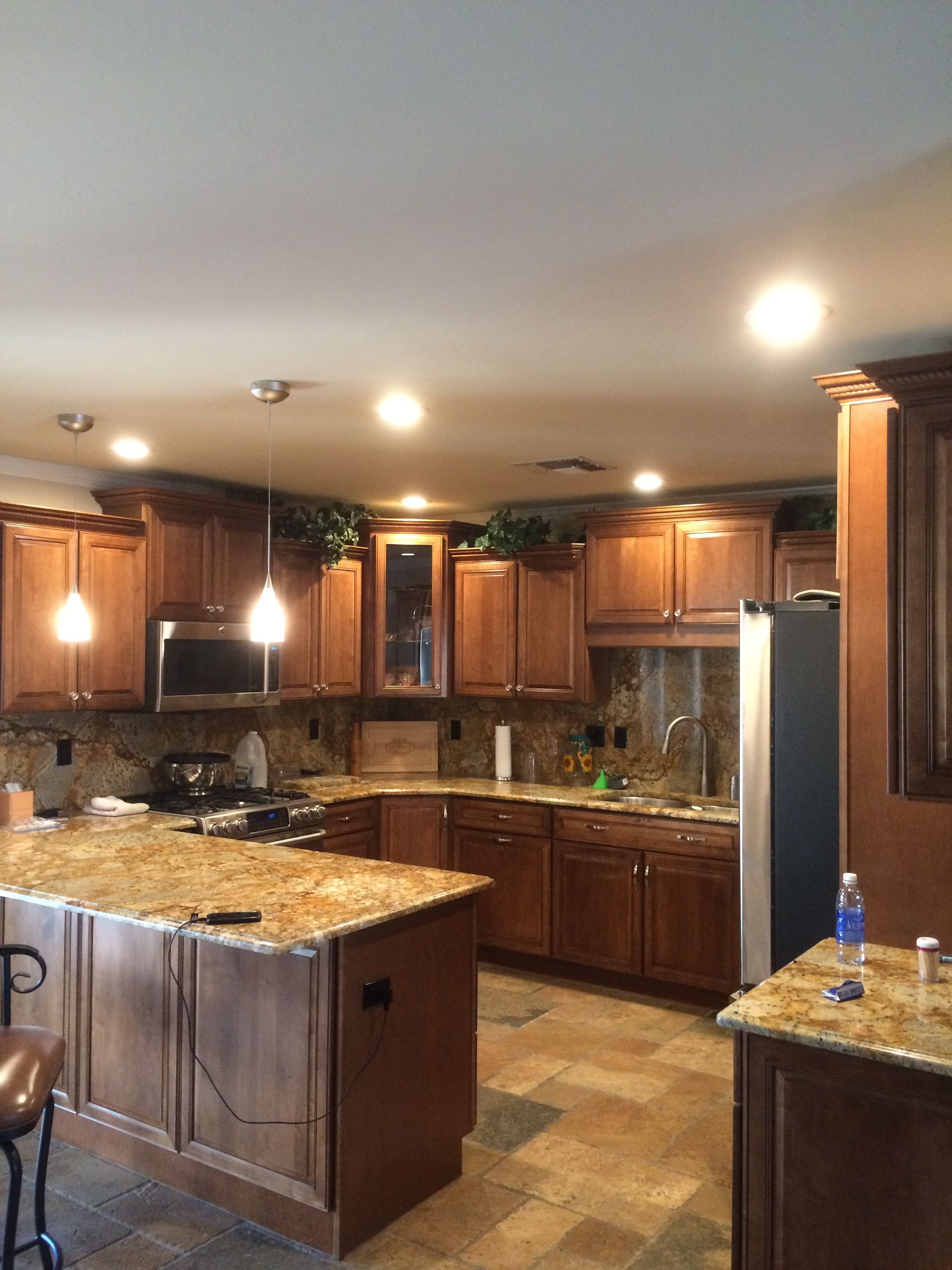 pot lights for kitchen remodel ideas small kitchens az recessed lighting installation of 4 inch leds in