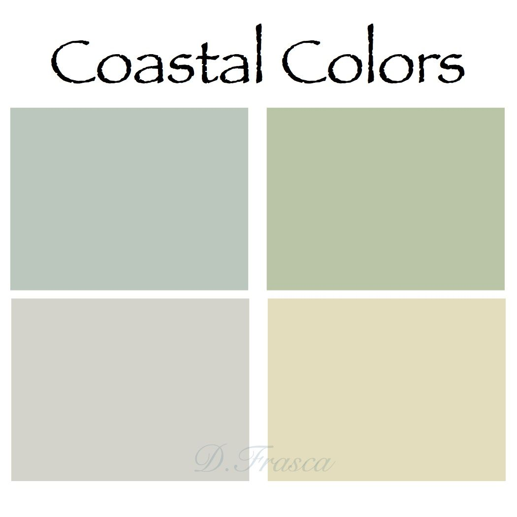 Impressive Coastal Paint Colors #5 Coastal Interior Paint Color