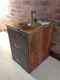 Rough Luxe Vintage Metal Filing Cabinet Encased in ...