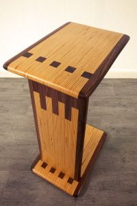 Modern C Table made from laminated Baltic Birch Plywood ...