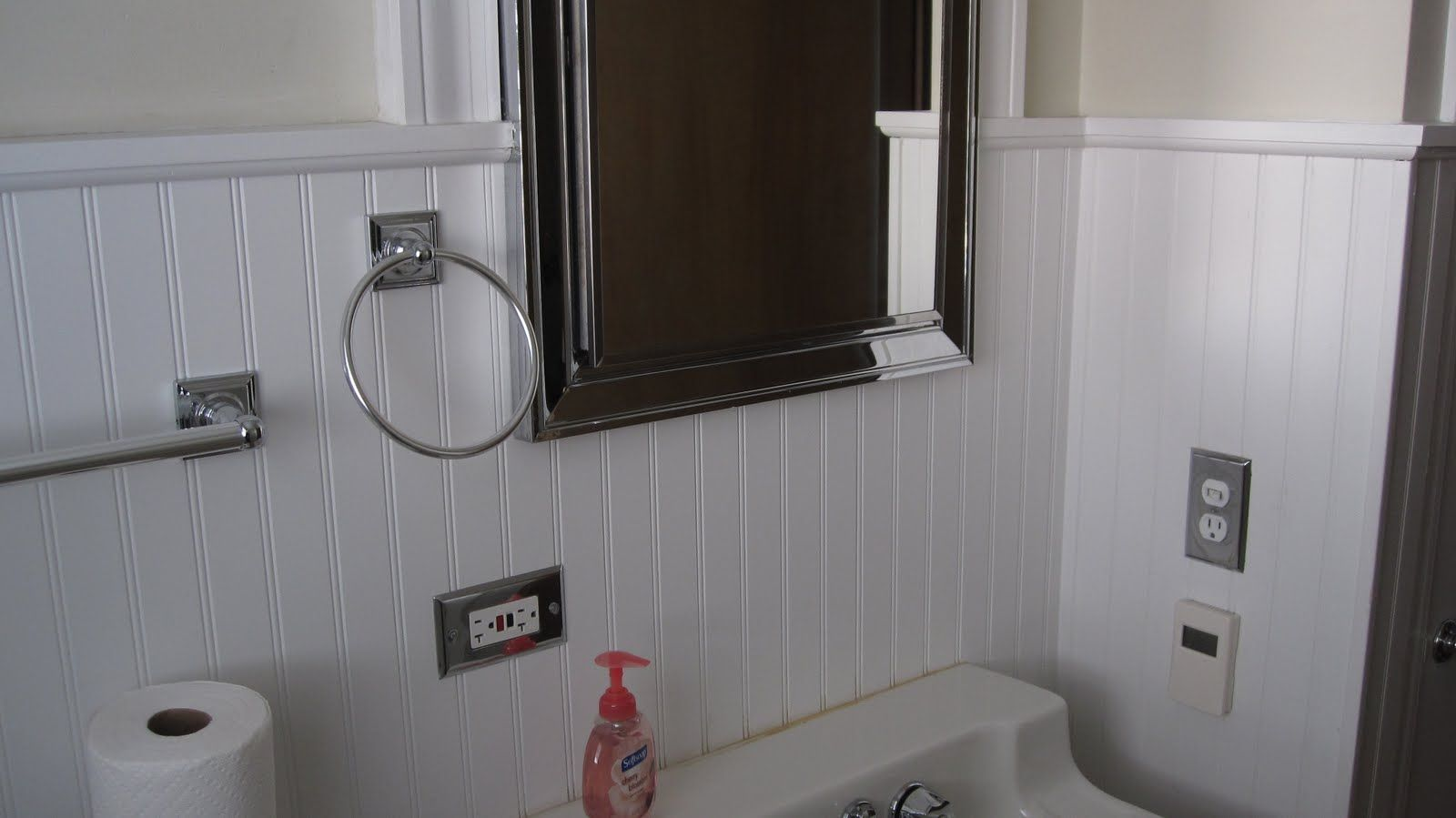 Wainscoting Panels Bathroom