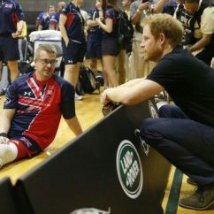 Wheelchair Volleyball Cape Cod Chair Company Prince Harry At The Sitting Game In Florida May 2016