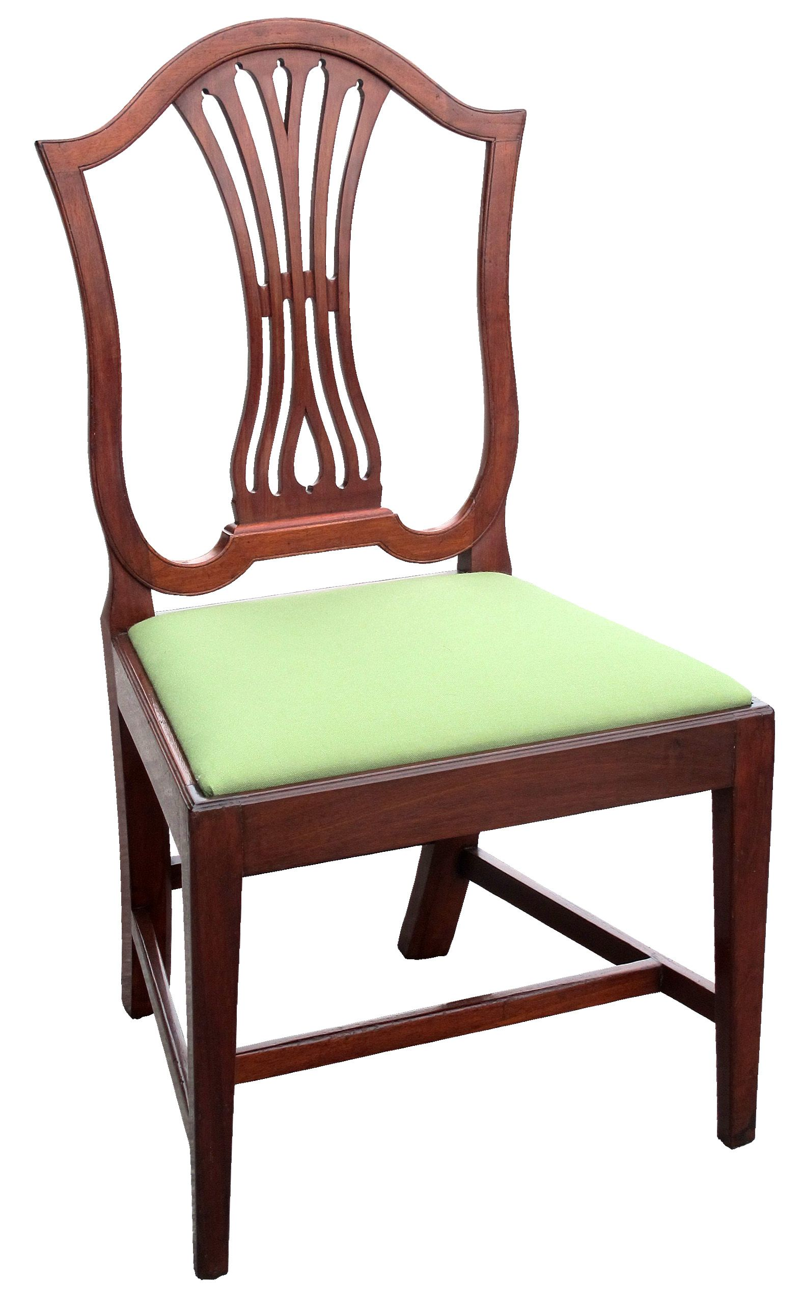 federal dining chairs red tub chair homebase a carved mahogany modified shield back or urn