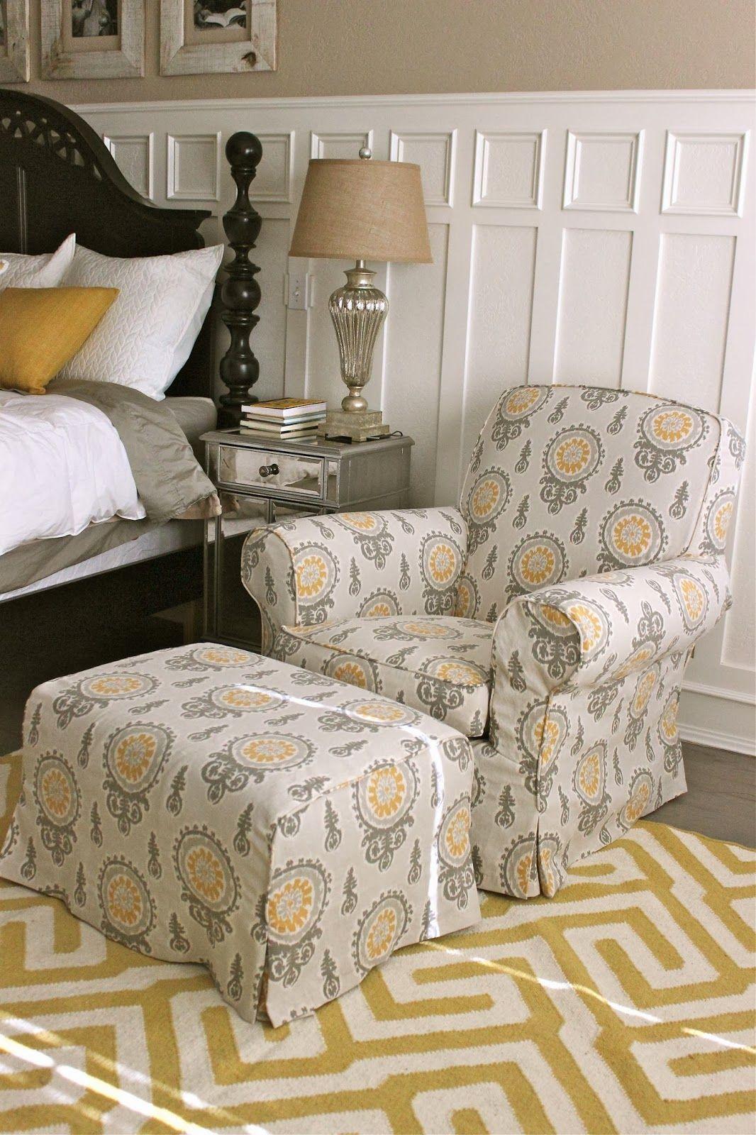 bedroom chair pinterest cypress adirondack chairs louisiana custom slipcovers by shelley gray yellow