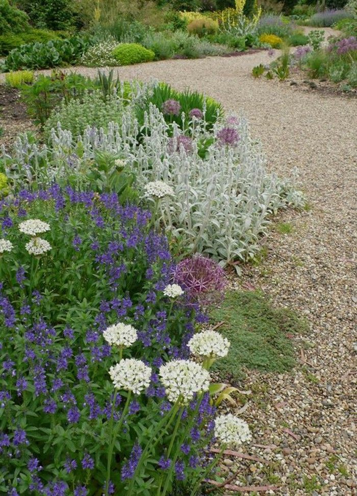 Garden Design Ideas With Gravel And Flowers 40 Examples Of
