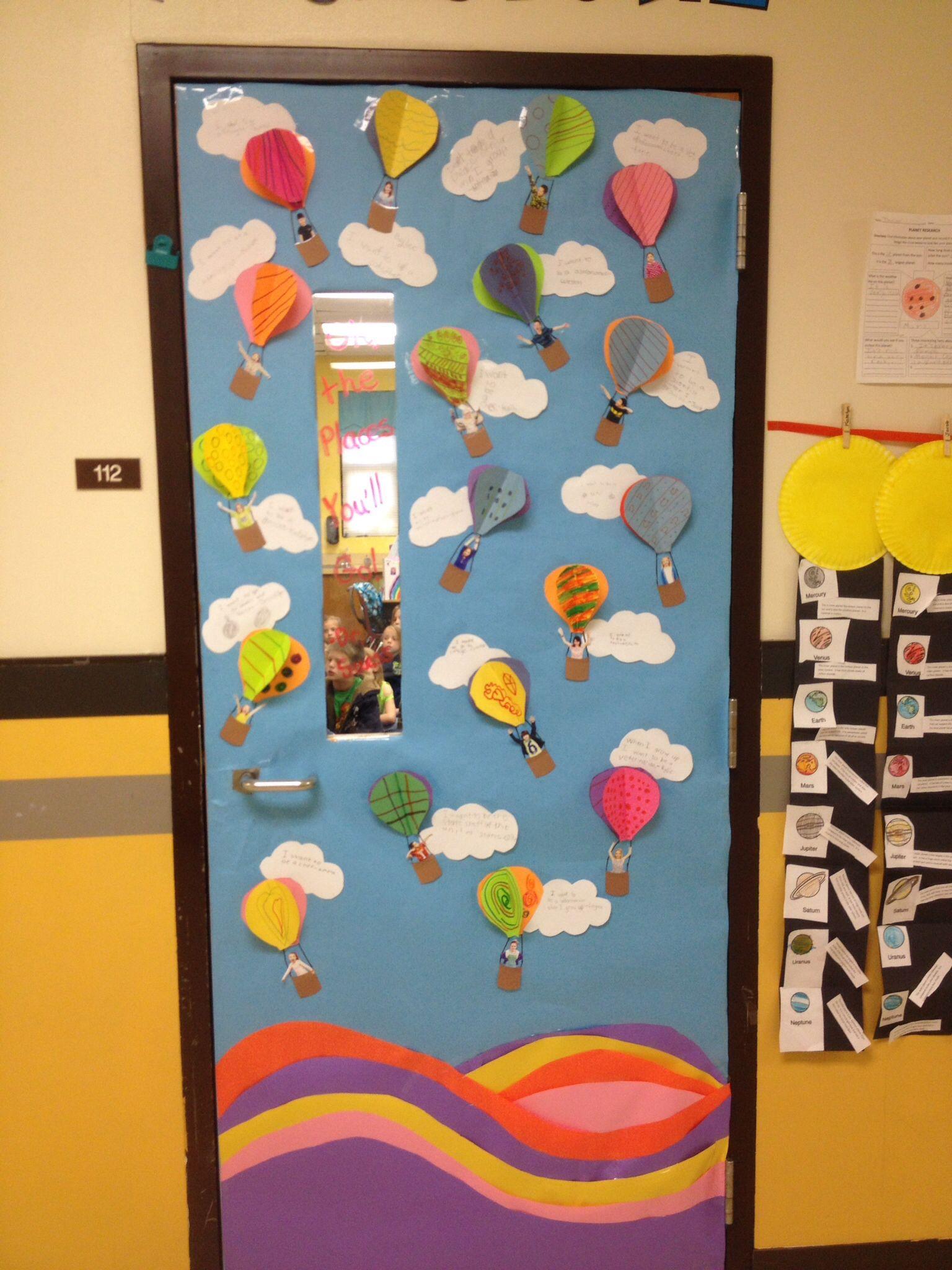 Dr Seuss door decorating contest winner