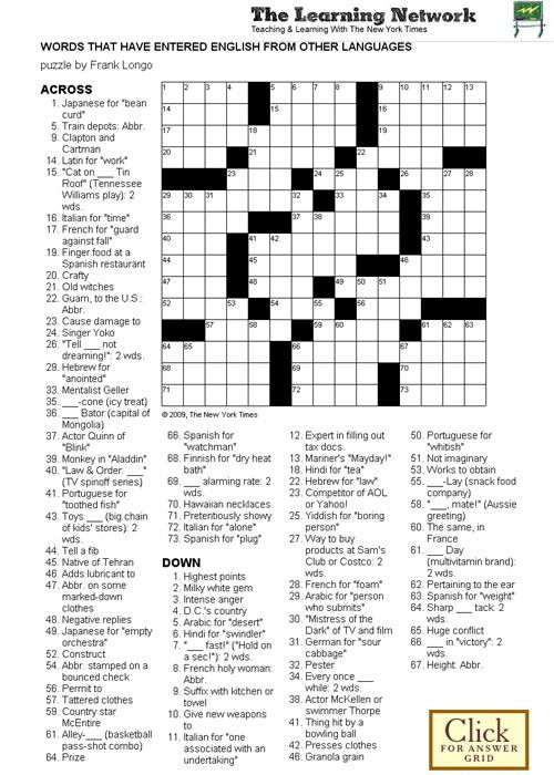 Roofing Tin Crossword & I Found Nothing In Todayu0027s