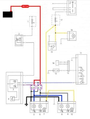 Triumph Street Triple Wiring Diagram | 675 speed triple
