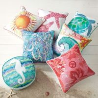 Surf N Sand Pillow Cover | PBteen | Colours Galore ...