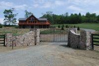 flagstone driveway entrance gates   entrance-entry-ways ...