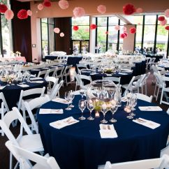 Table And Chair Rentals In Delaware Small Rocking Cushions Diy Coral Pompoms Hung From The Ceiling