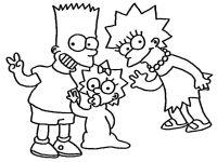 Disegni da colorare I Simpsons 21 | Disegni da colorare ...