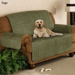 Pet Furniture Covers For Sectional Sofas Red Sofa With Chaise Faux Suede Loveseats And
