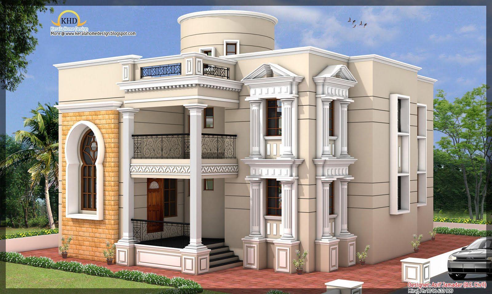 Arabic Home Designs Ground Floor 2121 00 Sq Ft First Floor 1760