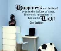 Harry Potter Dumbledore Quote Wall Art So, so awesome ...