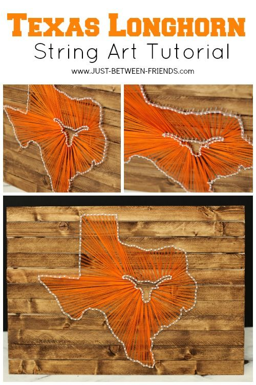 Recycled Pallet University Of Texas Longhorns Horns Logos And