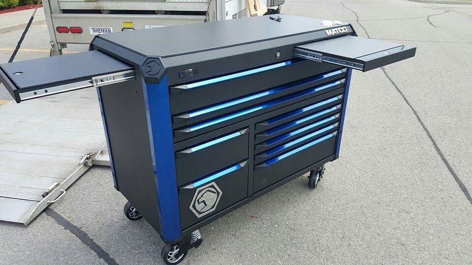 3 Bay Matco Revel Tool Box