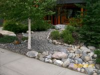 Low maintenance front yard and very simple to do. Visit us ...
