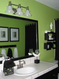 Lime green black and white are the chosen combination. New ...