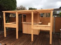 The deluxe sports bar. garden bar, summerhouse, garden ...
