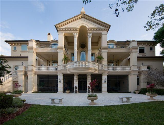 Italian Baroque Villa Plan Design Palace Luxury Home Design
