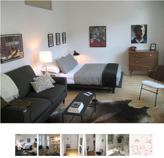 Small Cool 2009 Nicks Smart Small Space  Minimalist decor Furniture and Small rooms