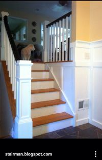 Split level stairs update | Split Level Remodeling Ideas ...