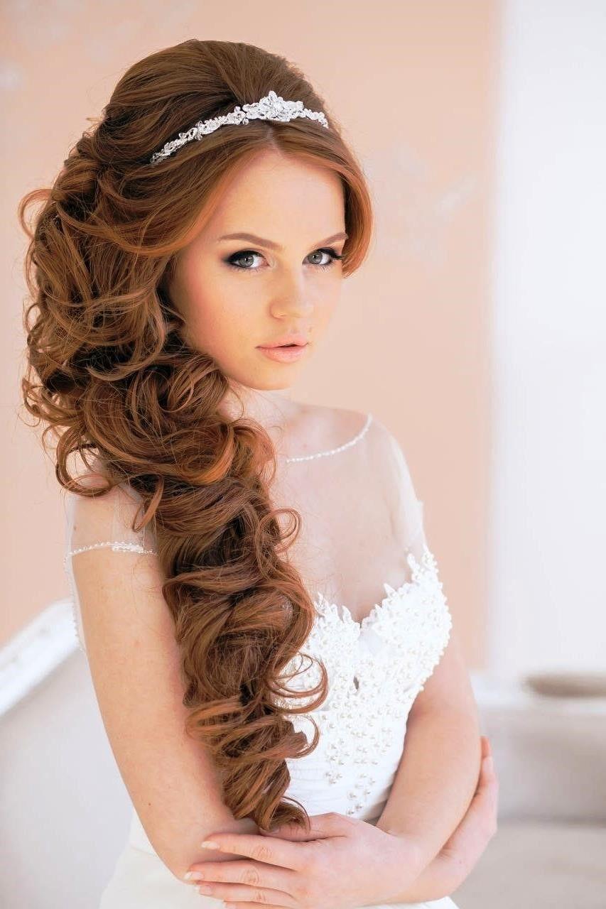 20 Wedding Hairstyles with Tiara Ideas
