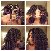 roll flexi rods natural